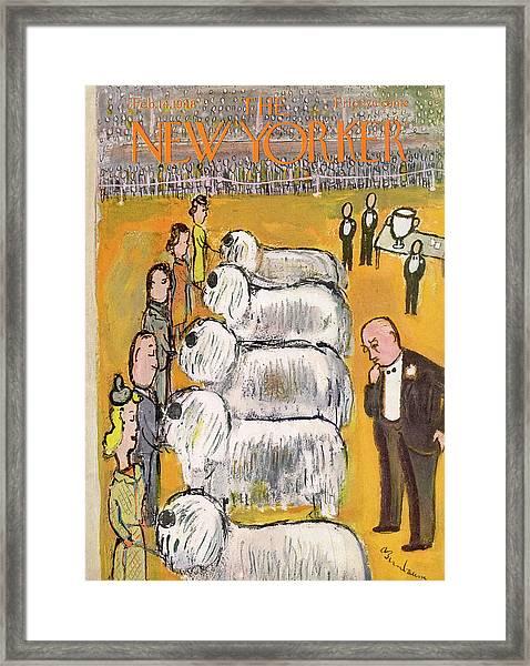 New Yorker February 14th, 1948 Framed Print