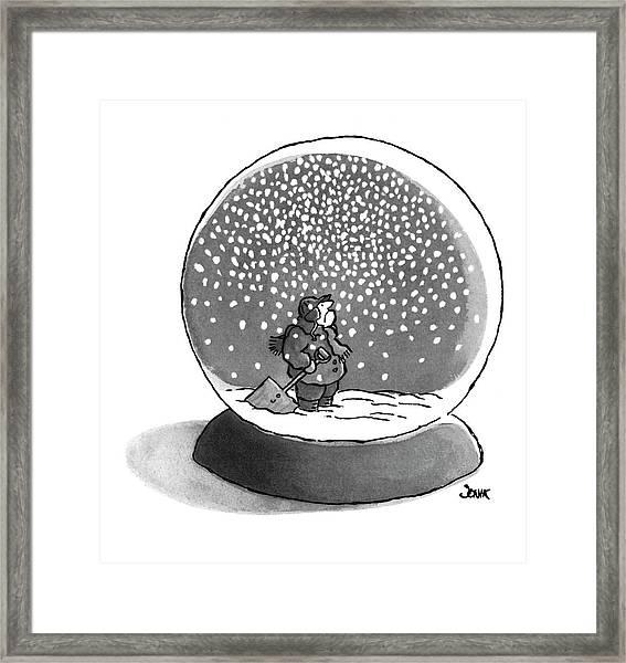 New Yorker February 14th, 1977 Framed Print