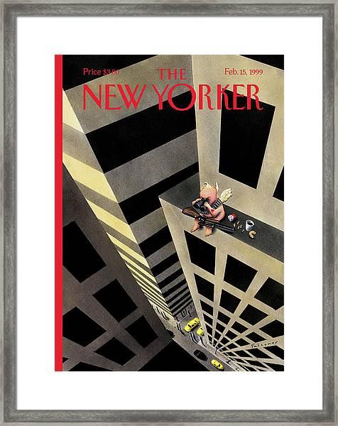 New Yorker February 15th, 1999 Framed Print