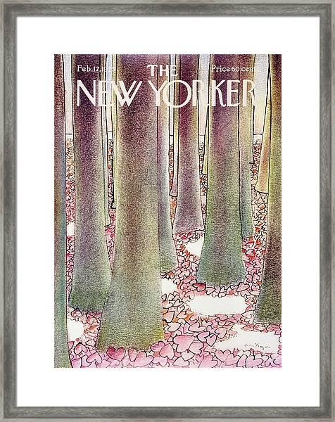 New Yorker February 17th 1975 Framed Print