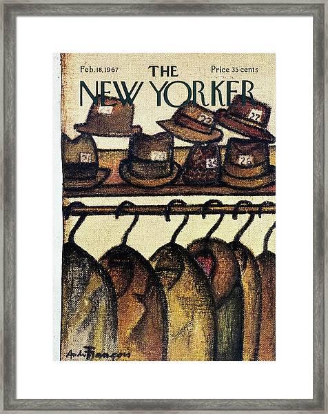 New Yorker February 18th 1967 Framed Print