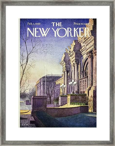New Yorker February 1st 1969 Framed Print