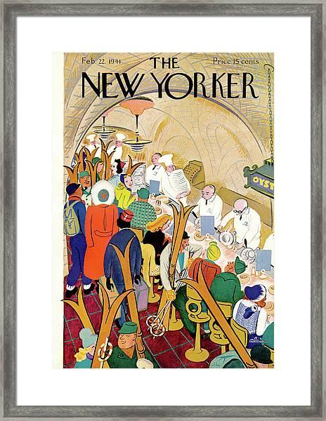 New Yorker February 22nd, 1941 Framed Print