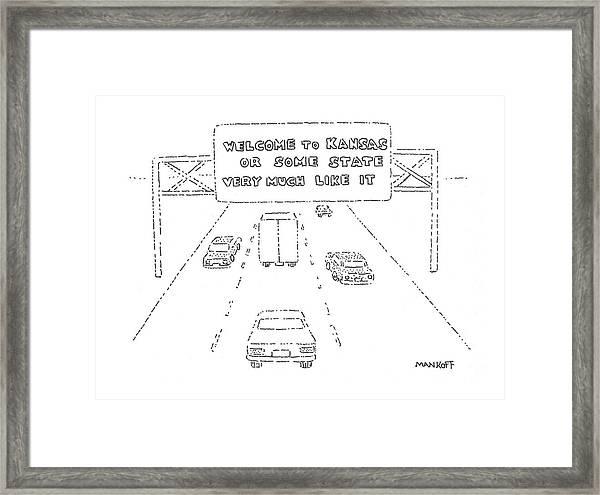 New Yorker February 26th, 1979 Framed Print
