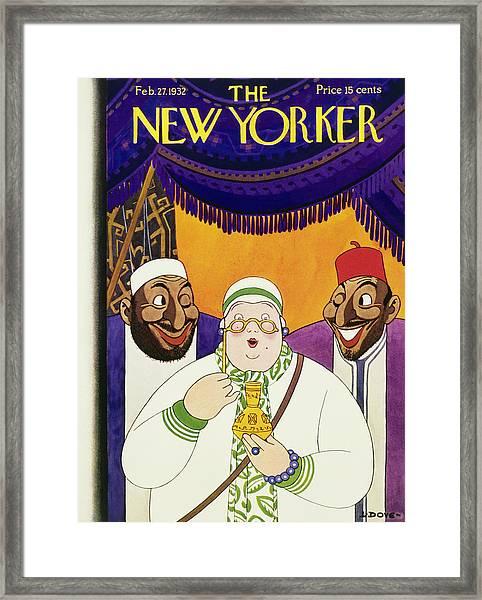 New Yorker February 27 1932 Framed Print