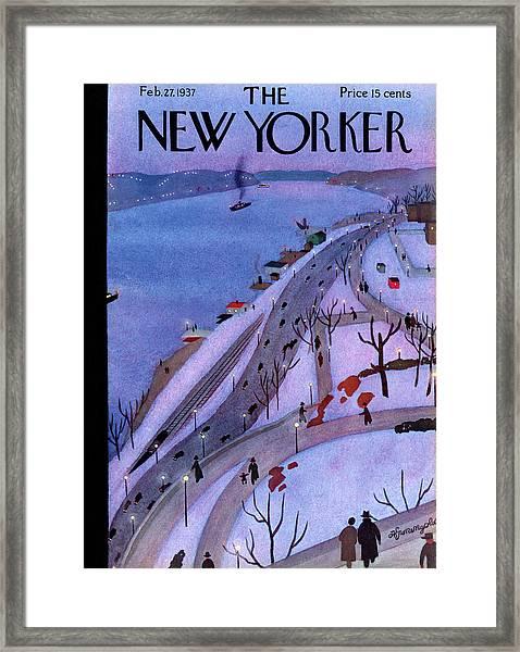 New Yorker February 27th, 1937 Framed Print