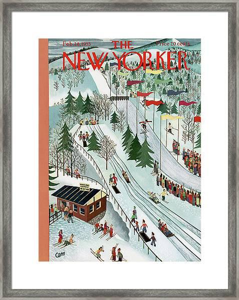 New Yorker February 28th, 1953 Framed Print