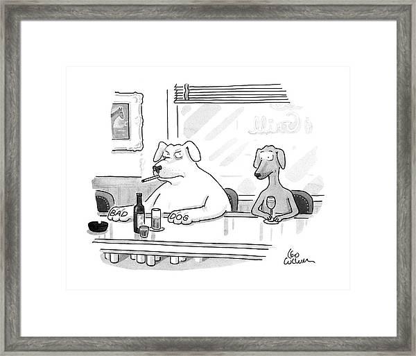 New Yorker February 3rd, 1992 Framed Print