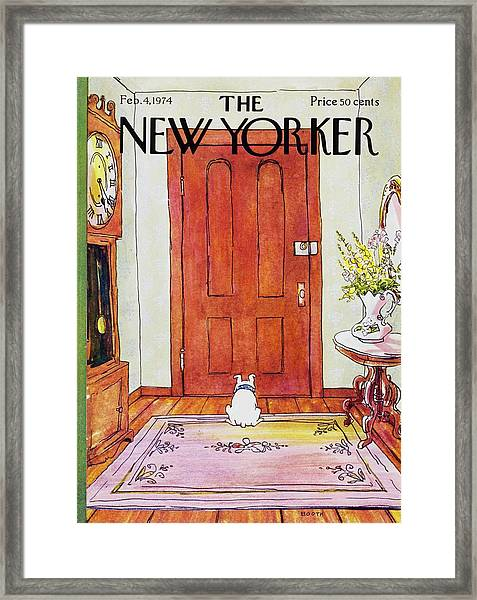 New Yorker February 4th 1974 Framed Print
