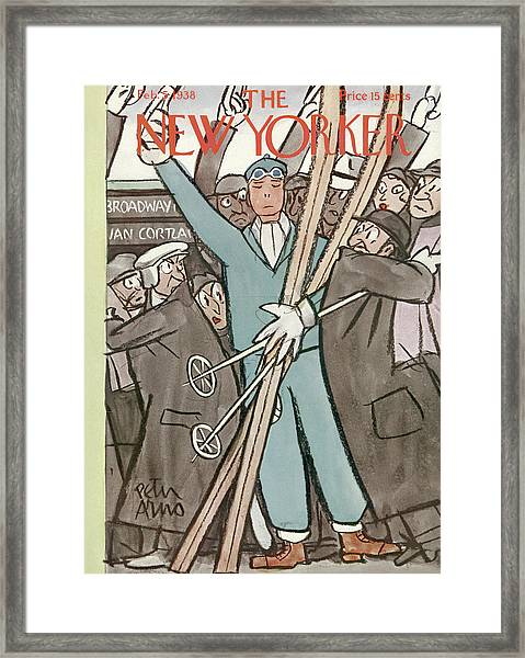 New Yorker February 5th, 1938 Framed Print
