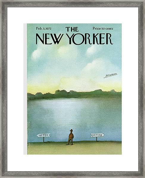 New Yorker February 5th, 1972 Framed Print