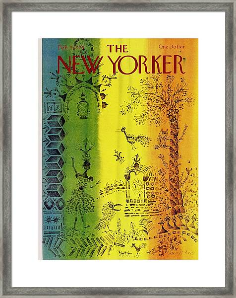 New Yorker February 5th 1979 Framed Print by Joseph Low