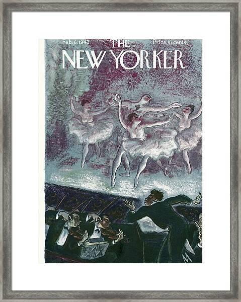 New Yorker February 6th, 1943 Framed Print