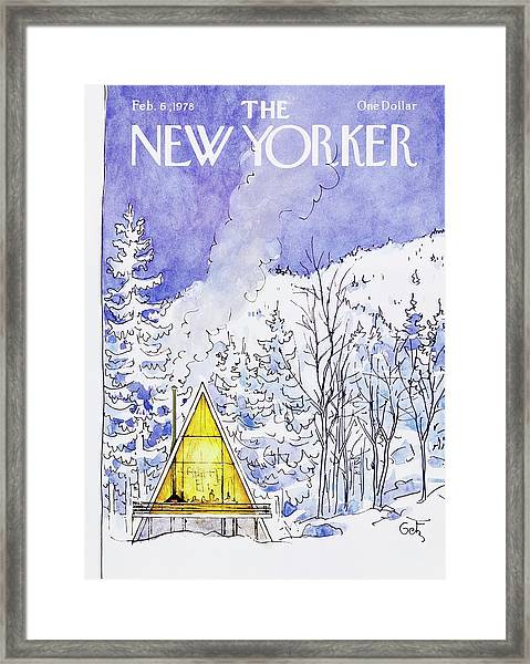 New Yorker February 6th 1978 Framed Print
