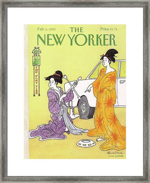 New Yorker February 6th, 1989 Framed Print