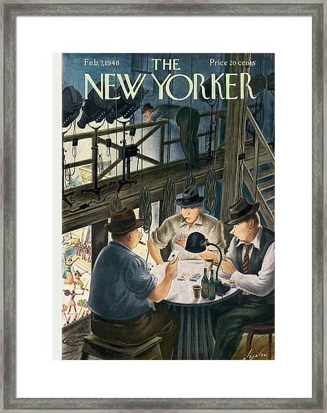 New Yorker February 7th, 1948 Framed Print