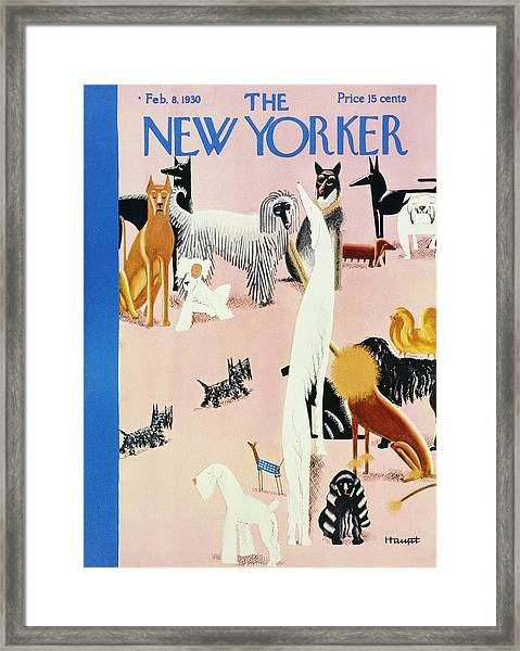 New Yorker February 8 1930 Framed Print
