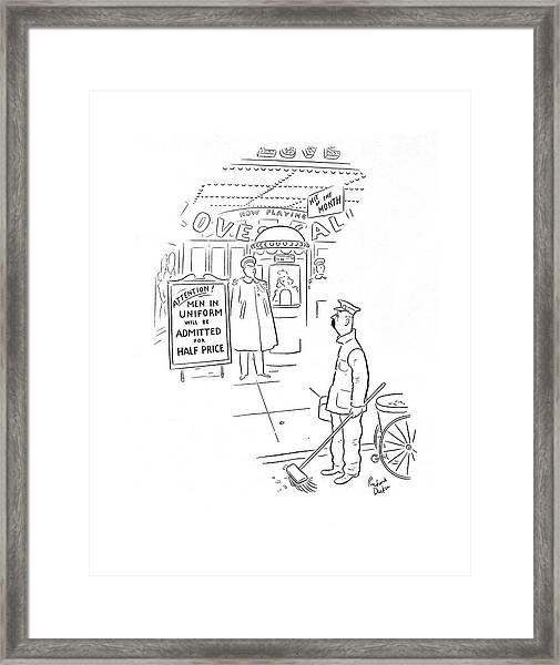 New Yorker February 8th, 1941 Framed Print