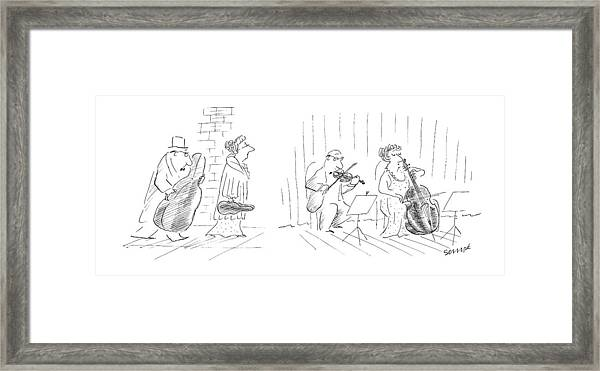 New Yorker January 12th, 1987 Framed Print