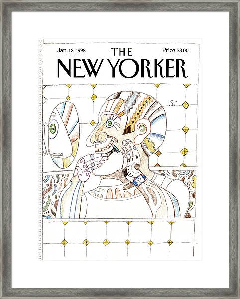 New Yorker January 12th, 1998 Framed Print