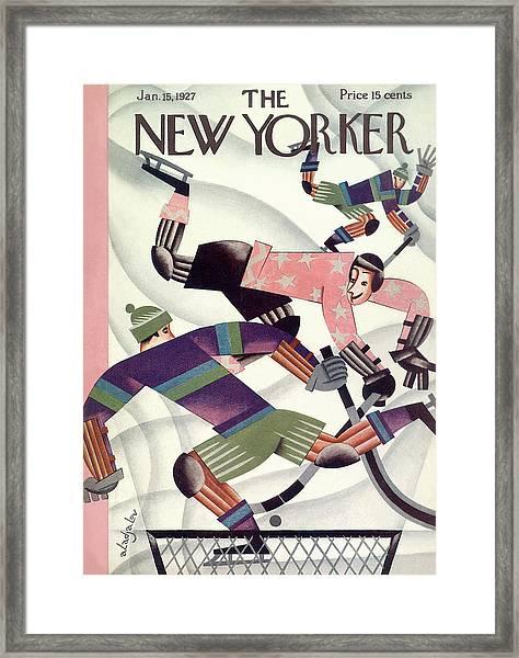 New Yorker January 15th, 1927 Framed Print