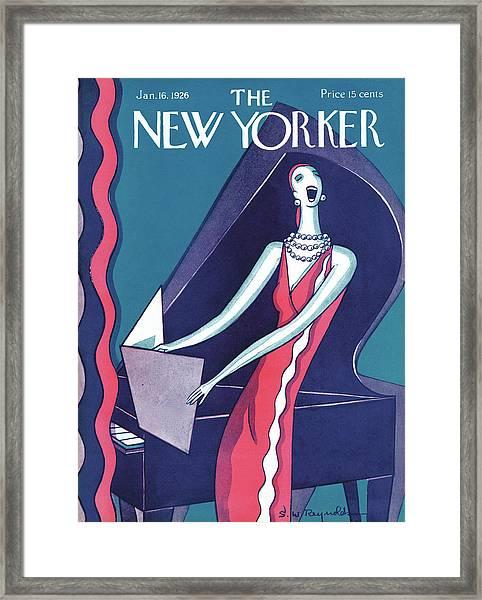 New Yorker January 16th, 1926 Framed Print