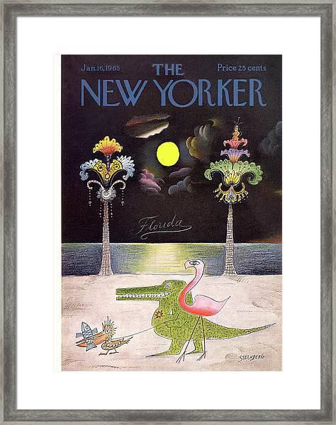 New Yorker January 16th, 1965 Framed Print