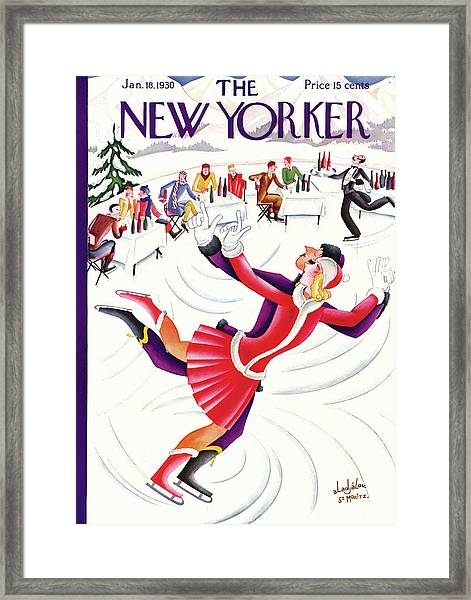 New Yorker January 18th, 1930 Framed Print