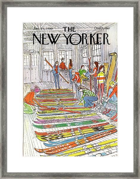 New Yorker January 21st, 1980 Framed Print