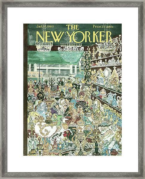 New Yorker January 23rd, 1960 Framed Print