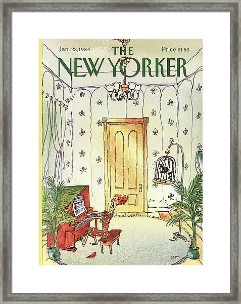New Yorker January 23rd, 1984 Framed Print
