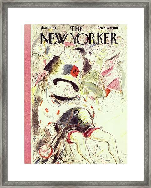 New Yorker January 24 1931 Framed Print