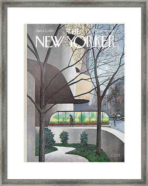 New Yorker January 24th, 1970 Framed Print
