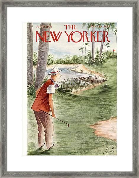 New Yorker January 27th, 1940 Framed Print