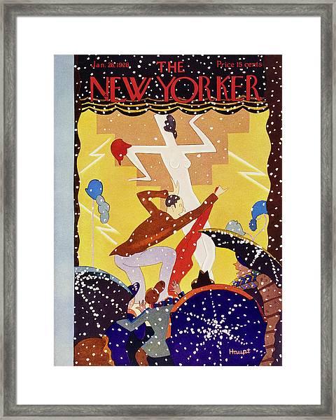 New Yorker January 28 1928 Framed Print