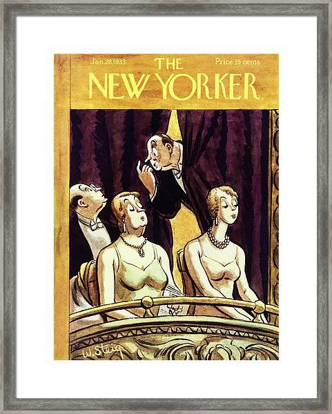 New Yorker January 28 1933 Framed Print