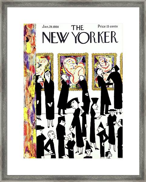 New Yorker January 29 1938 Framed Print