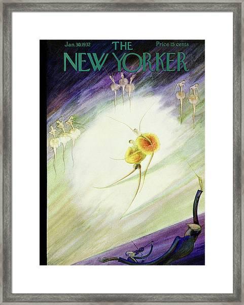 New Yorker January 30 1932 Framed Print