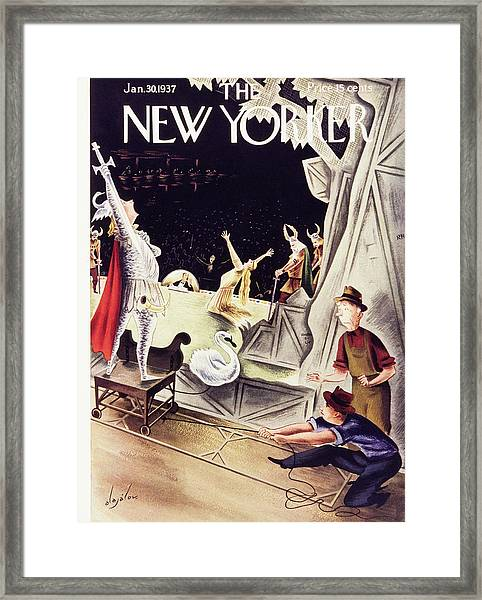 New Yorker January 30 1937 Framed Print