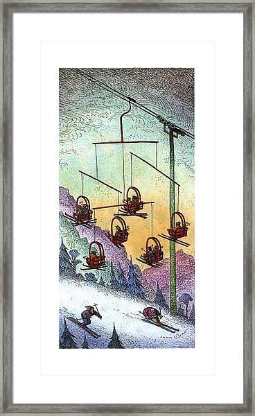 New Yorker January 30th, 1995 Framed Print