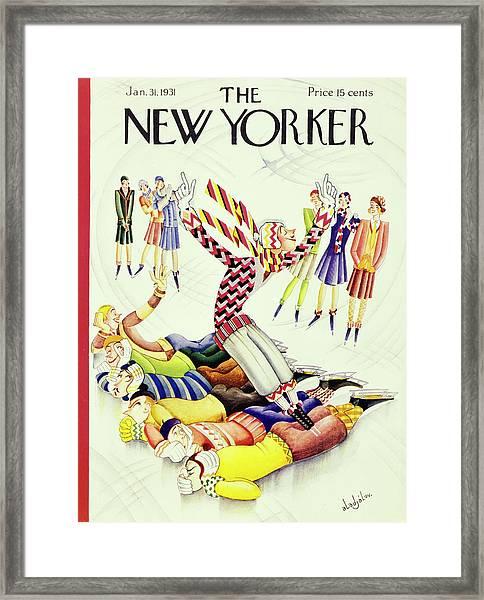 New Yorker January 31 1931 Framed Print