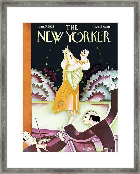 New Yorker January 7 1928 Framed Print