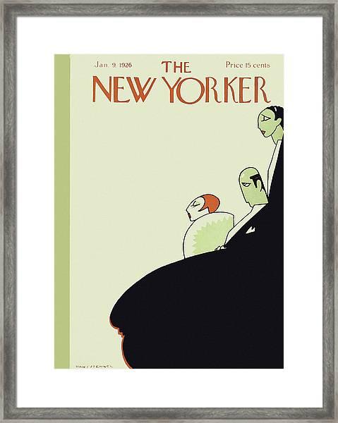 New Yorker January 9 1926 Framed Print
