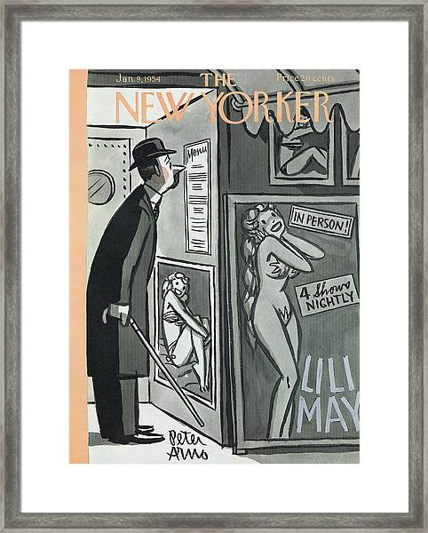 New Yorker January 9th, 1954 Framed Print