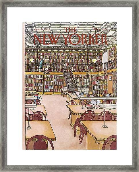 New Yorker January 9th, 1984 Framed Print