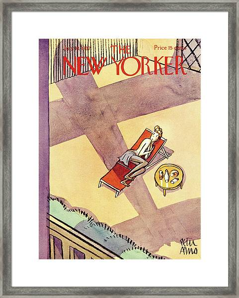 New Yorker July 10 1937 Framed Print