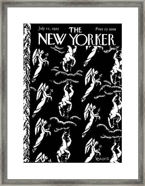 New Yorker July 11th, 1925 Framed Print by Bertrand Zadig