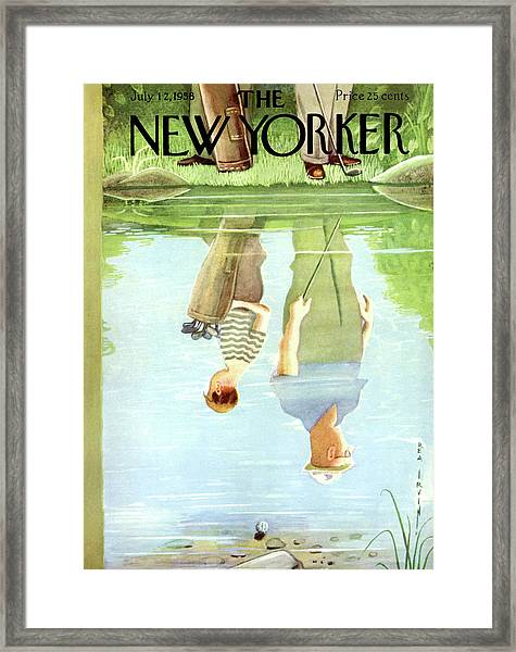New Yorker July 12th, 1958 Framed Print