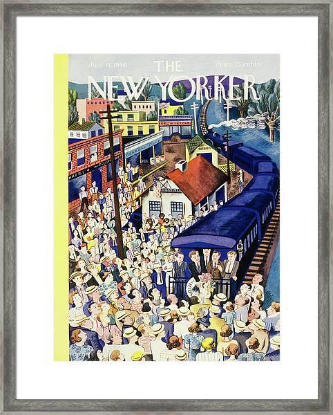 New Yorker July 13 1940 Framed Print