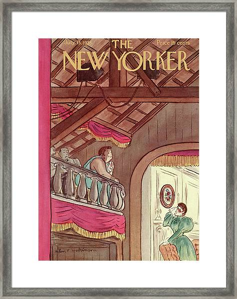 New Yorker July 13th, 1935 Framed Print